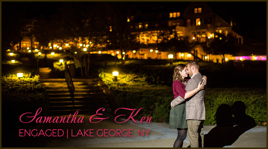 Solas Studios Engagement Session at Lake George NY